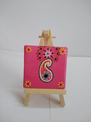 Dot Mandala on Canvas pad