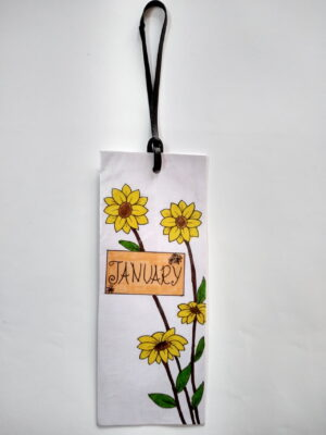 Month Style Bookmark