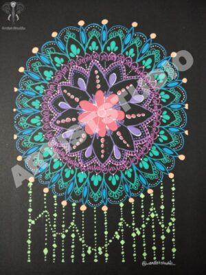 Colourful Mandala Variations
