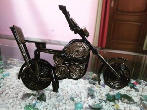 Newspaper bike