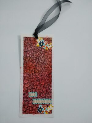 Doodle Bookmarks (Pack of 5 bookmarks + 1 Free mini bookmark)